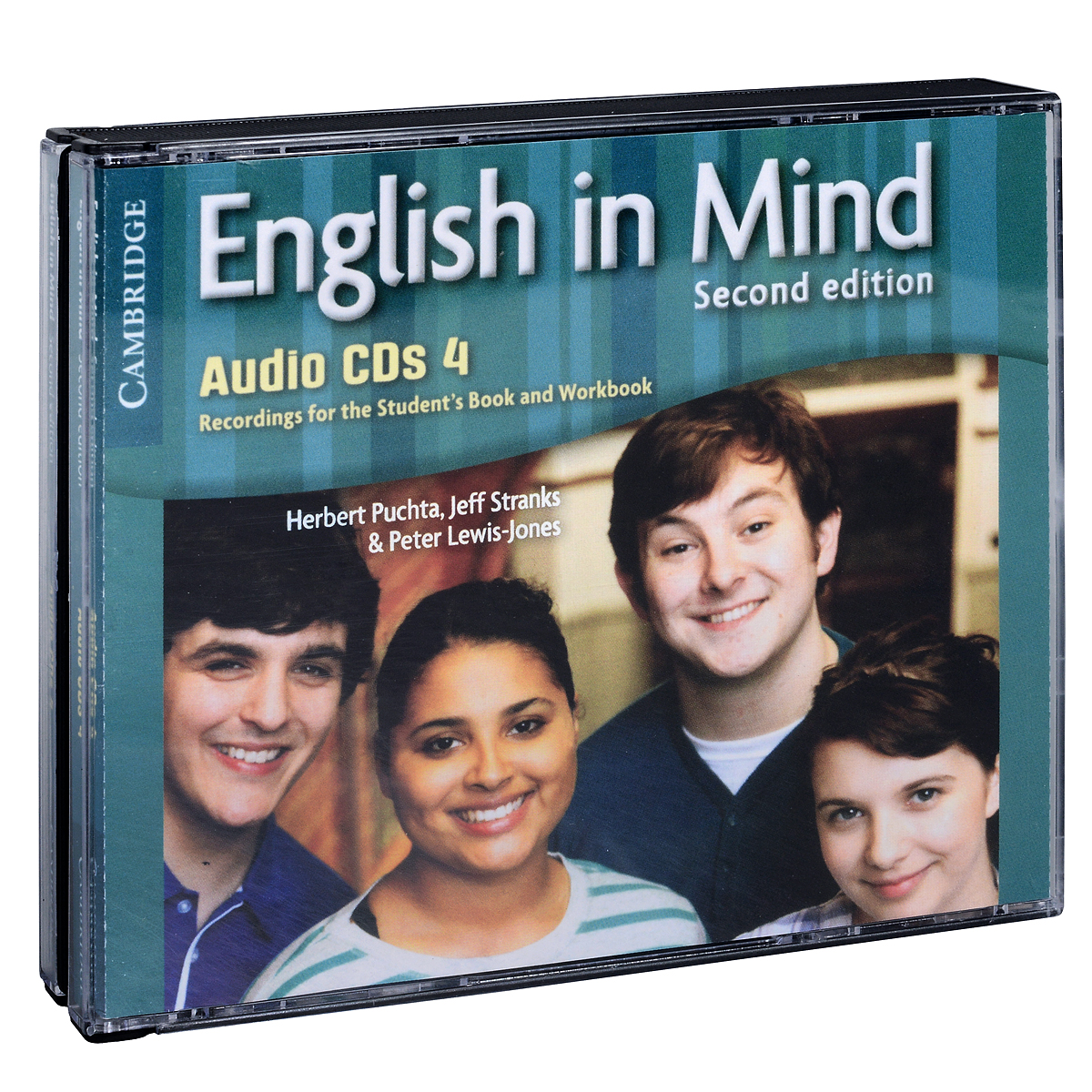 English in Mind: Level 4 (аудиокурс на 4 CD) leaving microsoft to change the world level 3 cd