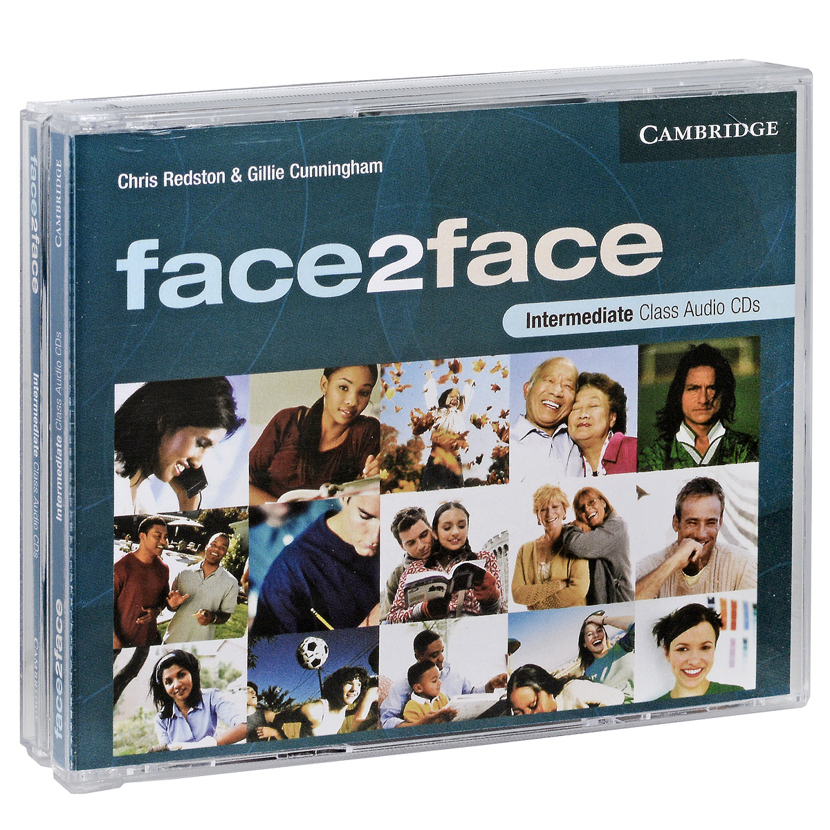 Face2face: Intermediate (аудиокурс на 3 CD) redston c face2face intermediate students book with cd rom audio cd