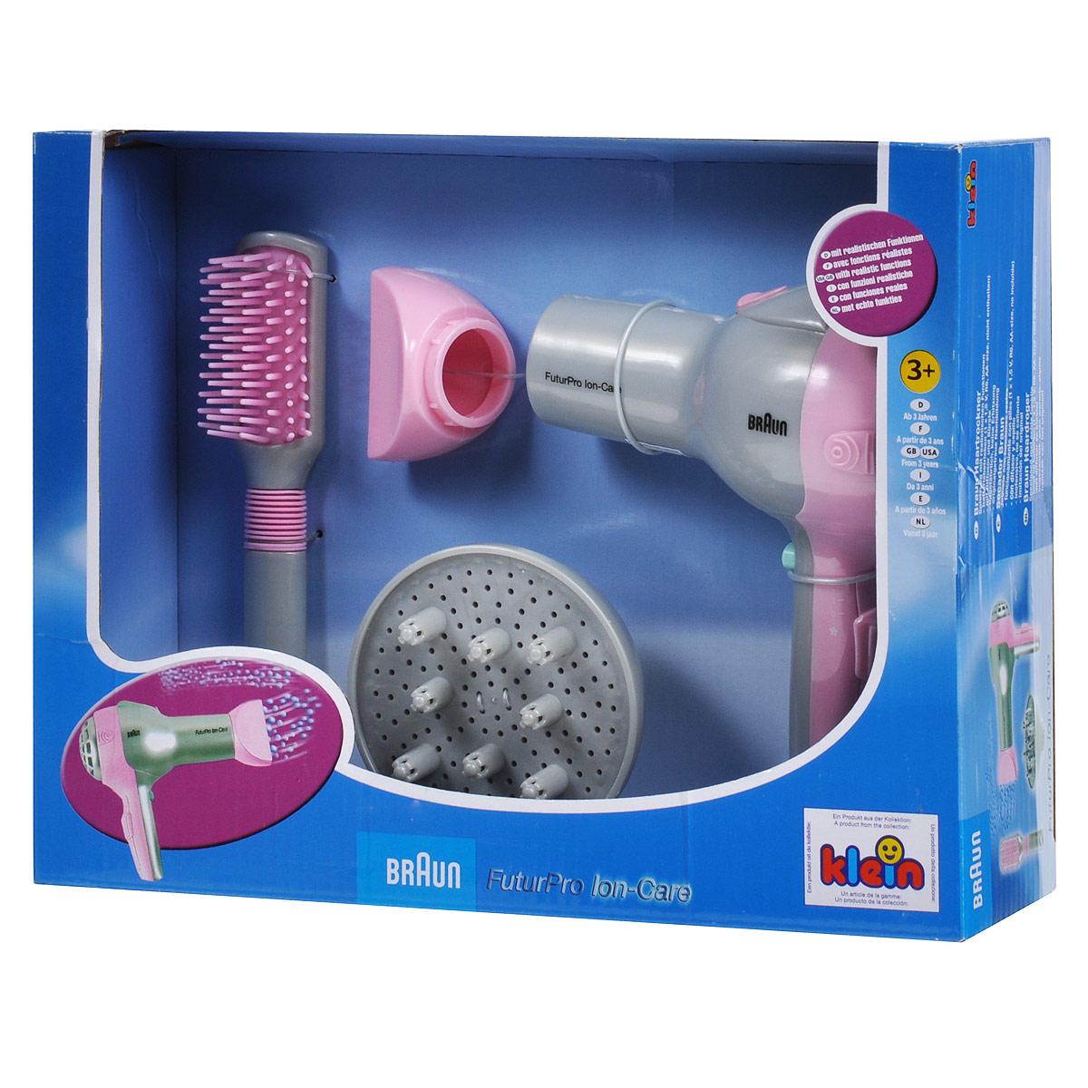 Игровой набор Klein Braun. Набор парикмахера, 4 предмета набор для ламинирования волос дома купить