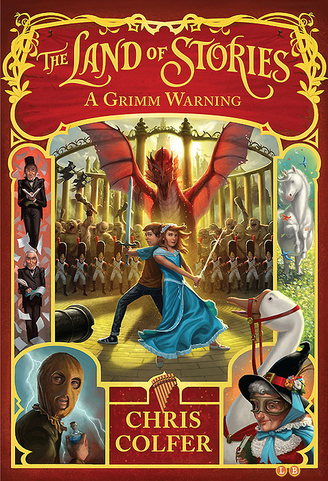 The Land of Stories: A Grimm Warning who were the brothers grimm