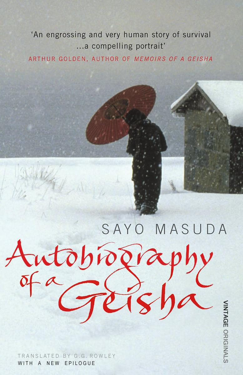 Autobiography of Geisha memoirs of a geisha