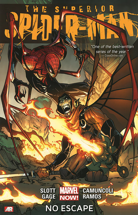 The Superior Spider-Man: Volume 3: No Escape the box man