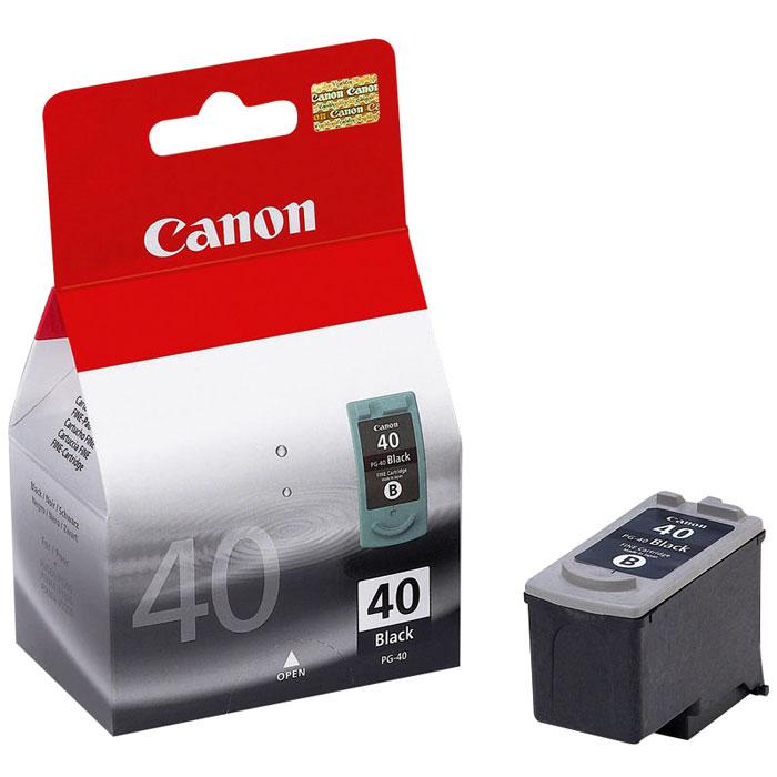 Canon PG-40BK, Black картридж для струйных МФУ/принтеров картридж для принтера canon pg 440xl черный