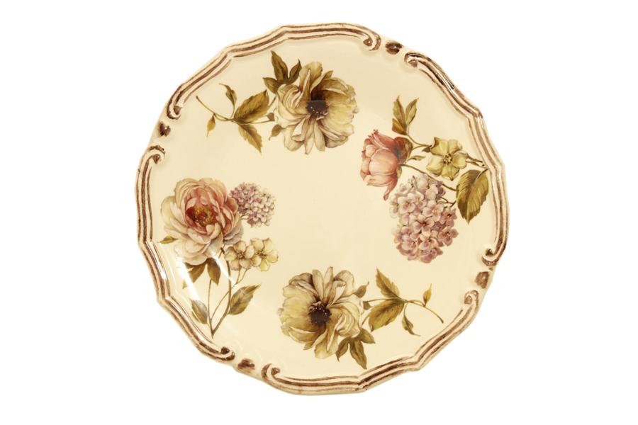 Набор десертных тарелок LCS Сады Флоренции, диаметр 21 см, 2 штLCS053PF-BO-ALНабор LCS Сады Флоренции состоит из двух десертных тарелок, выполненных из высококачественной керамики. Изделия оформлены изящным цветочным рисунком. Края тарелок рельефные. Изящные тарелки прекрасно оформят праздничный стол и порадуют ваших гостей изысканным дизайном и формой. Диаметр тарелки: 20 см. Высота тарелки: 2 см.