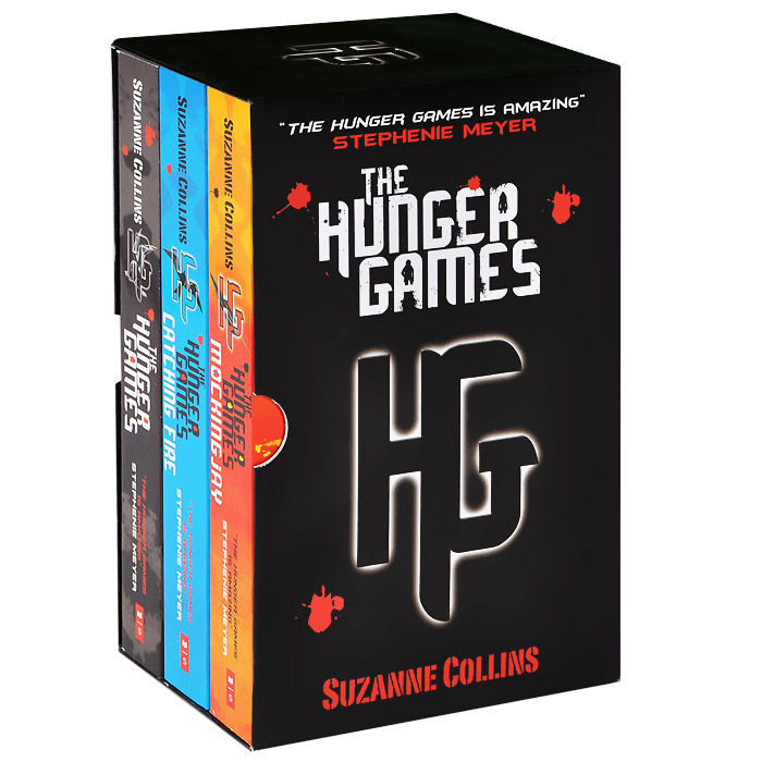 The Hunger Games (комплект из 3 книг) the john green collection комплект из 5 книг