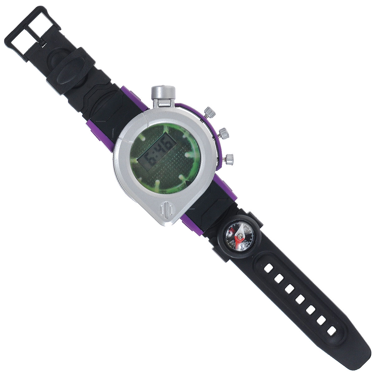 Игрушка Turtles Шпионские часы, цвет: черный, серебристый игрушка turtles шпионские часы цвет черный серебристый