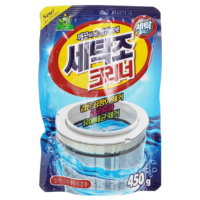 Средство для чистки стиральных машин Sandokkaebi Se-Plus, 450 г casio часы casio mtp 1379l 7b коллекция analog