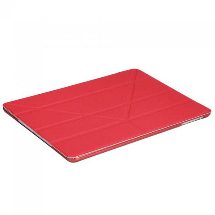 IT Baggage Hard Case чехол для iPad Air 9.7, RedITIPAD501-3Чехол IT Baggage Hard Case для iPad Air 9.7 – это стильный и лаконичный аксессуар, позволяющий сохранить планшет в идеальном состоянии. Надежно удерживая технику, обложка защищает корпус и дисплей от появления царапин, налипания пыли. Также чехол IT Baggage для iPad Air 9.7 можно использовать как подставку для чтения или просмотра фильмов. Имеет прозрачную заднюю крышку и свободный доступ ко всем разъемам устройства.