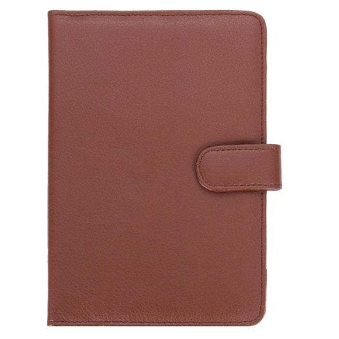IT Baggage универсальный чехол для планшета 8, BrownITUNI802-2Универсальный чехол IT Baggage для планшетов с диагональю 8 - это стильный и лаконичный аксессуар, позволяющий сохранить гаджет в идеальном состоянии. Надежно удерживая технику, обложка защищает корпус и дисплей от появления царапин, налипания пыли. Также чехол IT Baggage можно использовать как подставку для чтения или просмотра фильмов. Имеет свободный доступ ко всем разъемам устройства.