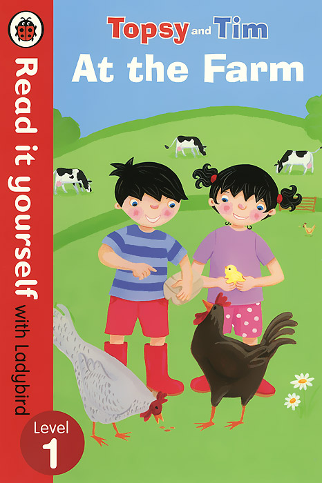 Topsy and Tim: At the Farm: Level 1 dk readers l1 a day at greenhill farm