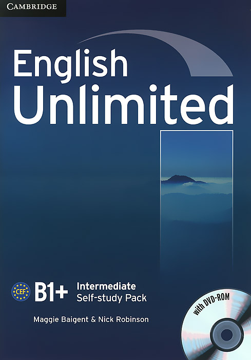 English Unlimited: Intermediate B1+: Self-study Pack (+ DVD-ROM) presentations in english dvd rom