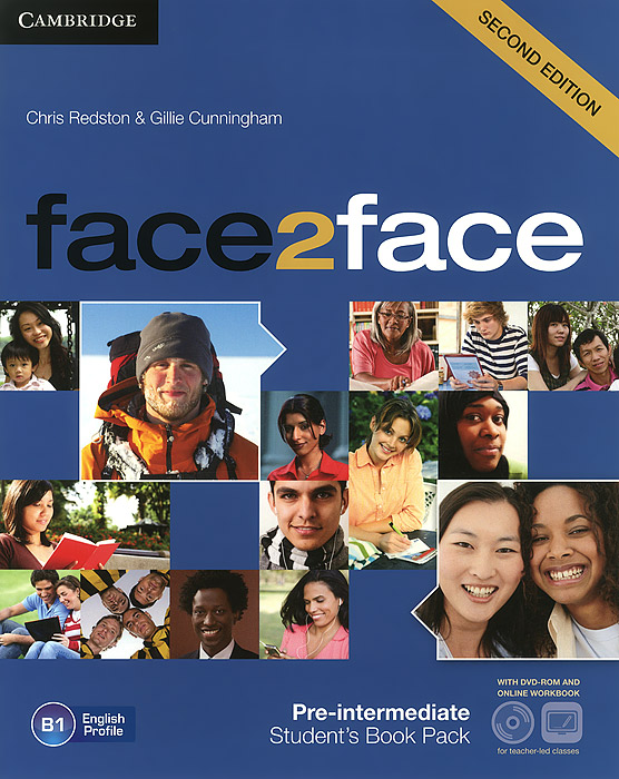 Face2face: Pre-intermediate B1: Student's Book (+ DVD-ROM and Online Workbook) roberts rachael sayer mike insight pre intermediate workbook