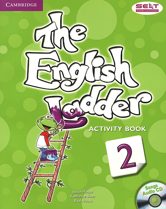 The English Ladder: Level 2: Activity Book (+ CD) compact usb humidifier air purifier aroma diffuser white green