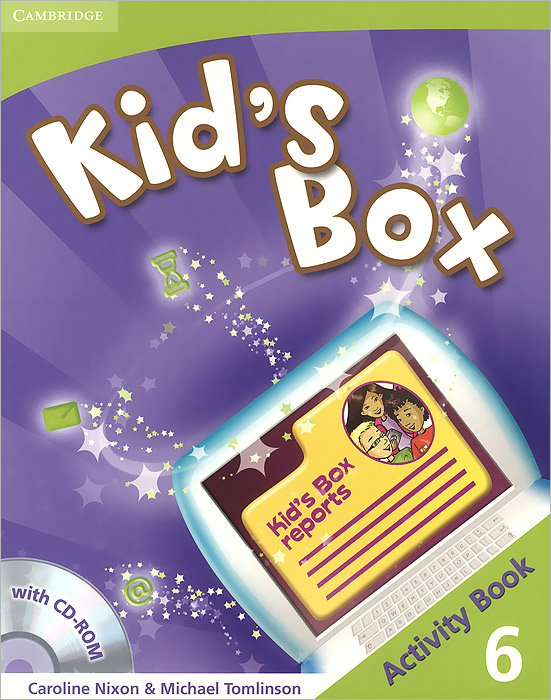 Kid's Box: Level 6: Activity Book (+ CD-ROM) merry team 6 activity book audio cd
