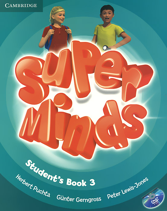 Super Minds: Level 3: Student's Book (+ DVD-ROM) super minds level 6 workbook with online resources