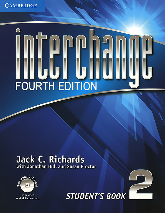 Interchange: Level 2: Student's Book (+ DVD-ROM) цветкова татьяна константиновна english grammar practice учебное пособие
