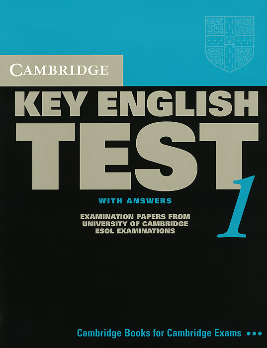 Cambridge Key English Test 1: Student's Book with Answers: Examination Papers from the University of Cambridge ESOL Examinations