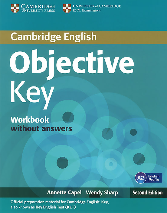 Objective Key: Wokbook without answers objective first 4 edition workbook without answers сd