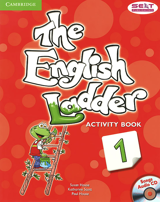 The English Ladder: Level 1: Activity Book (+ CD) transformers a fight with underbite activity book level 4