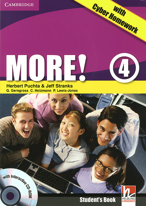 More! Level 4: Student's Book with Cyber Homework (+ CD-ROM)