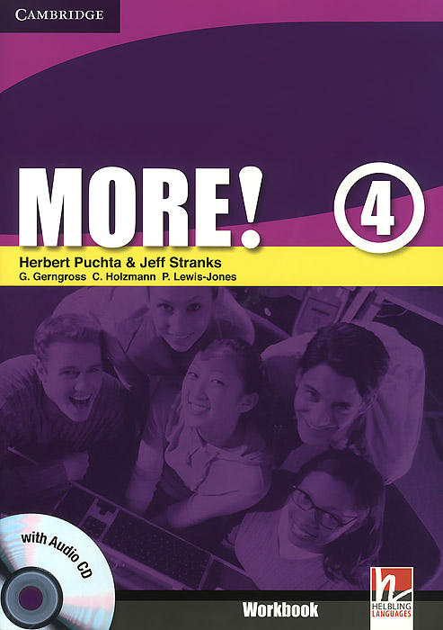 More! Level 4: Workbook (+ CD-ROM) penguin learning active reading 3 logan s run with audio cd cd rom