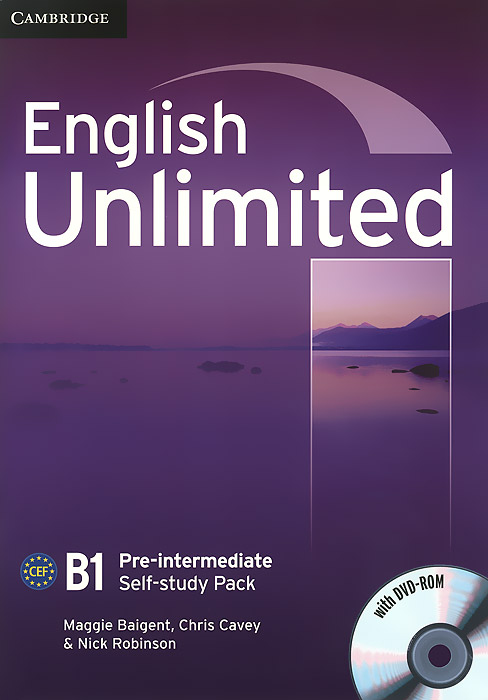 English Unlimited: Pre-Intermediate: Self-study Pack (+ DVD-ROM) global pre intermediate workbook dvd rom