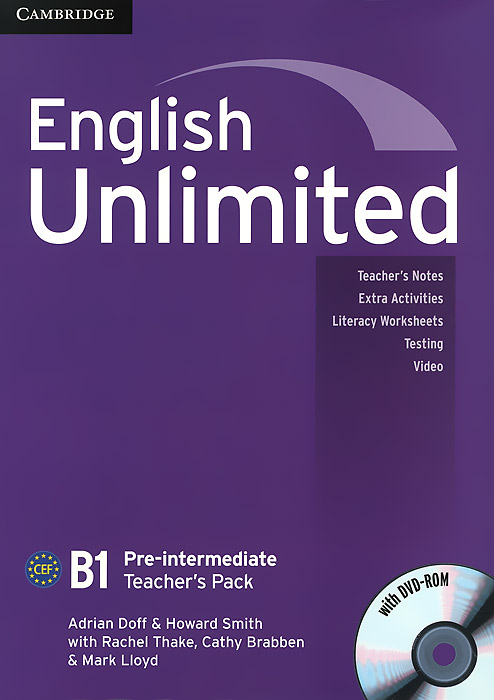 English Unlimited: Pre-intermediate B1: Teacher's Pack (+ DVD-ROM) choices pre intermediate teacher s book dvd rom