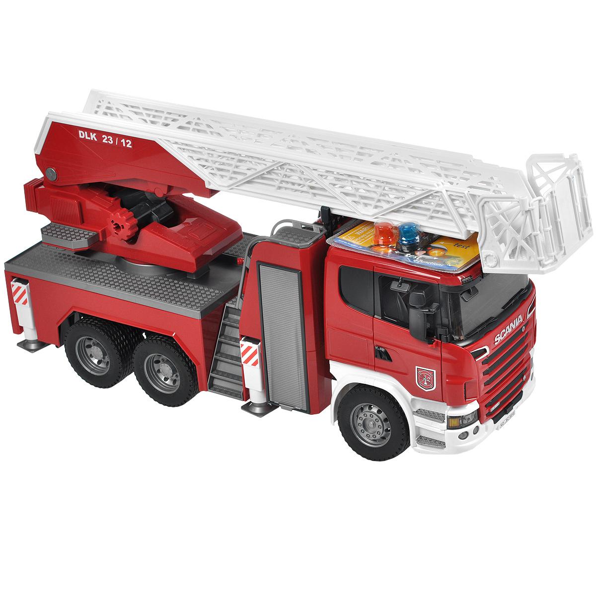 Bruder Пожарная машина Scania bruder пожарная машина scania с 3 лет