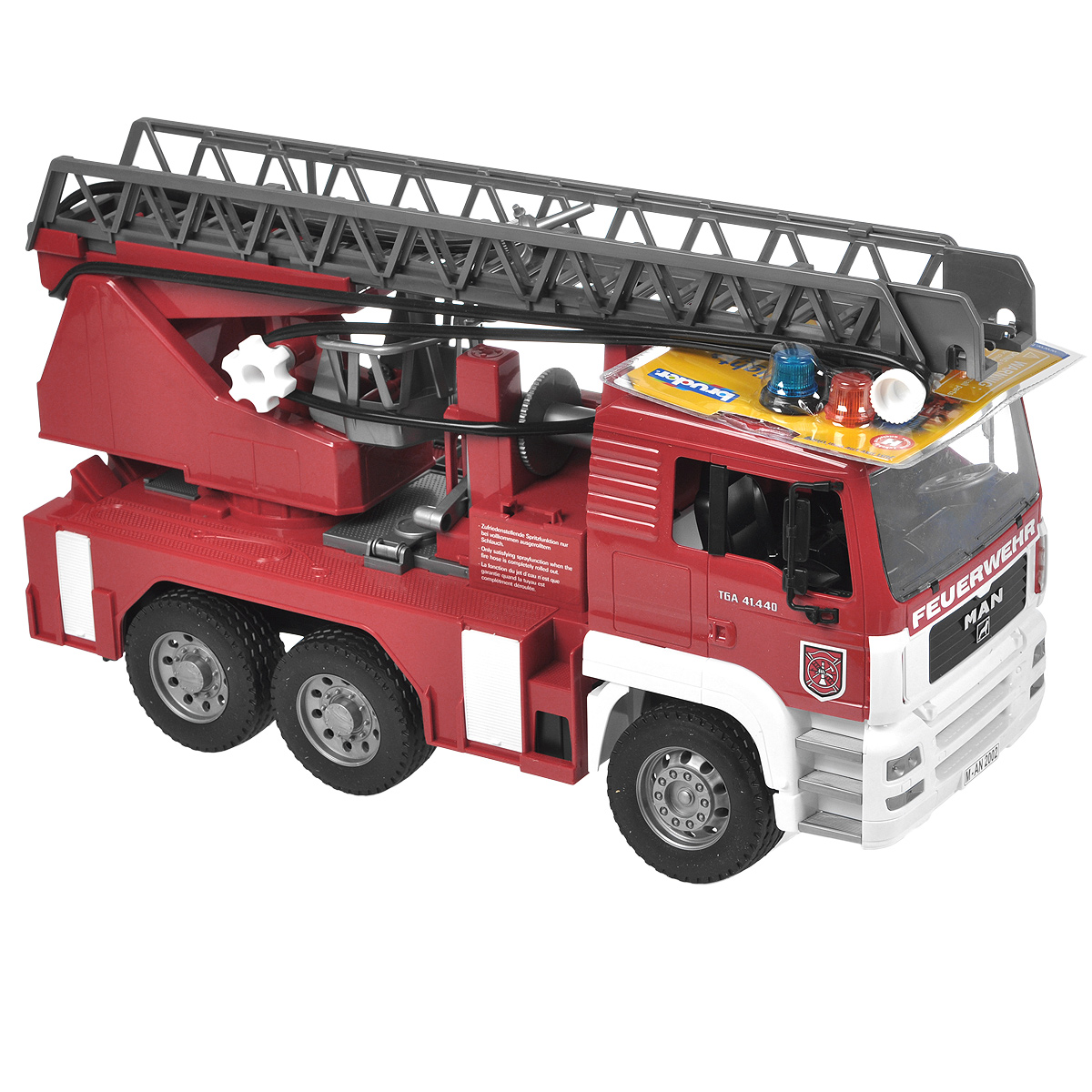 Bruder Пожарная машина MAN bruder пожарная машина mack