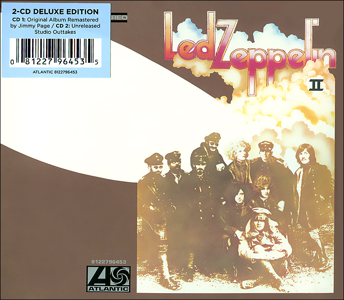 Led Zeppelin Led Zeppelin. Led Zeppelin II(2 CD) cd led zeppelin iv deluxe cd edition