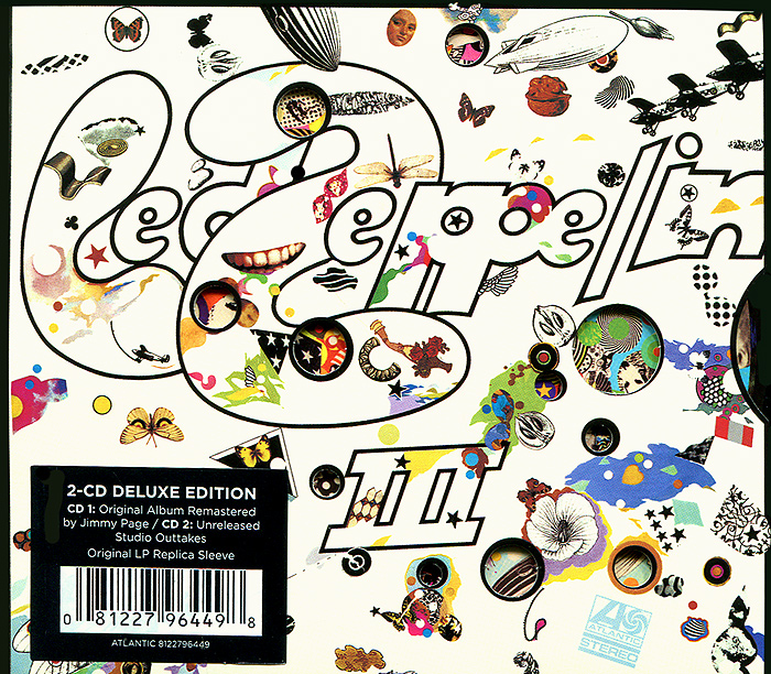 Led Zeppelin Led Zeppelin. Led Zeppelin III (2 CD) cd led zeppelin lll remastered