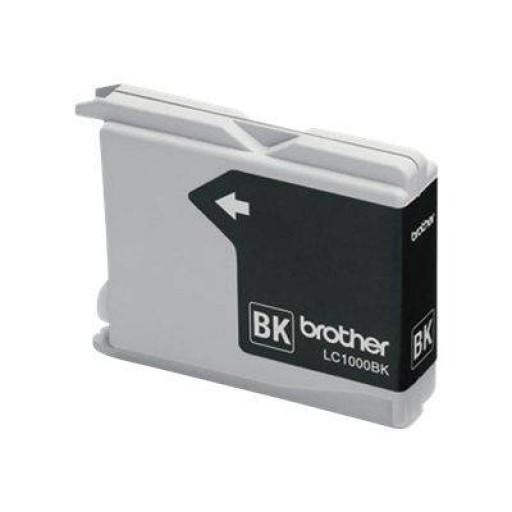 Brother LC1000BK, Black струйный картридж для DCP-130/330LC1000BKИспользование оригинальных расходных материалов Brother LC1000BK гарантирует оптимальную работу принтеров, факсимильных аппаратов и устройств все в одном, произведенных компанией Brother. В тех редких случаях, когда возникают какие-либо проблемы, использование оригинальных расходных материалов является гарантией того, что ответы и рекомендации специалистов Центра Brother будут точны и позволят в кратчайший срок устранить неисправность