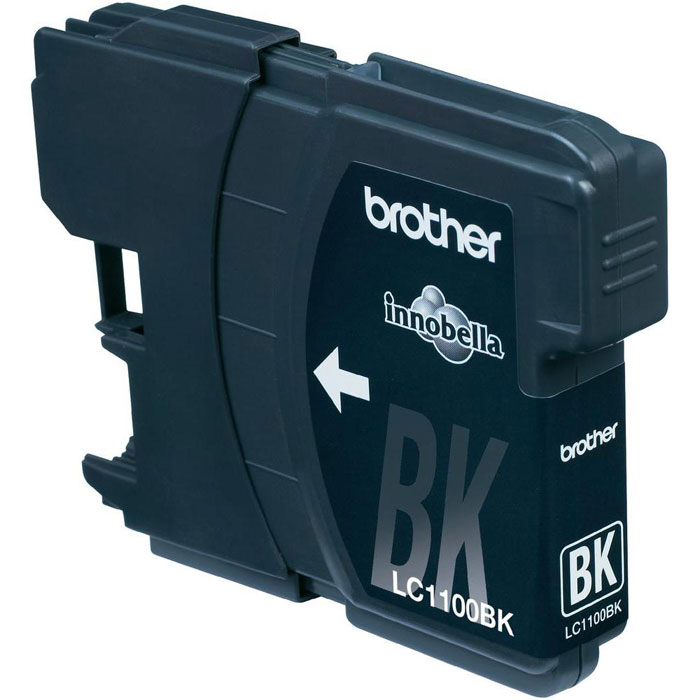 Brother LC1100BK, Black струйный картридж для DCP-385C/MFC-990CW/DCP-6690CW тонер brother bt5000y yellow для dcp t300 t500w t700w
