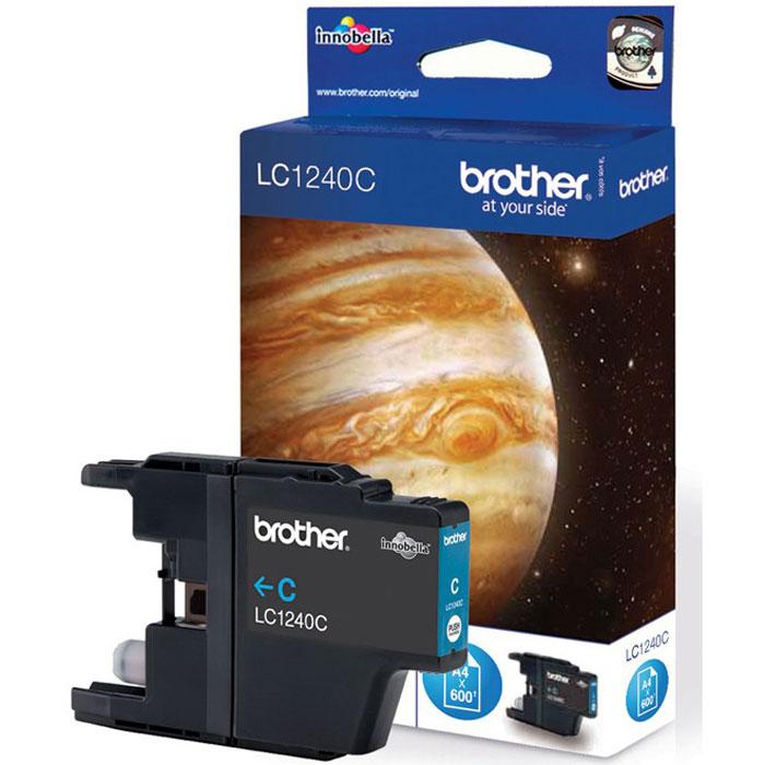 Brother LC1240C, Cyan струйный картридж для MFC-J6510DW, MFC-J69010DWLC1240CПри использовании оригинальных картриджей Brother LC-1240 вы всегда будете получать впечатляющие