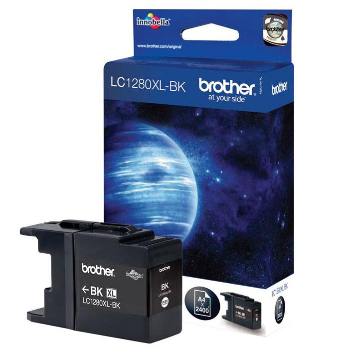 Brother LC1280XLBK, Black струйный картридж для MFC-J6510DW, MFC-J69010DWLC1280XLBKПри использовании оригинальных картриджей Brother LC-1280XL вы всегда будете получать впечатляющие