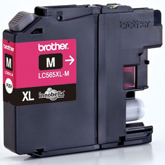 Brother LC565XLM, Magenta струйный картридж для MFC-J2510 картридж brother lc565xlm magenta для mfc j2510 mfc j2310 mfc j3720 mfc j3520