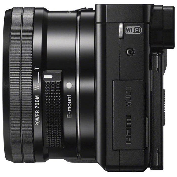 Sony Alpha A6000Y Kit 16-50 mm + 55-210 mm, Blackцифровая фотокамера Sony