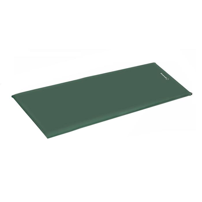 Коврик самонадувающий Greenell  Комфорт , цвет: зеленый - Туристические коврики