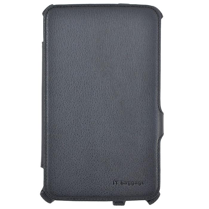 IT Baggage чехол-мультистенд для Samsung Galaxy Tab 3 7.0, Black аксессуар чехол samsung galaxy tab a 7 sm t285 sm t280 it baggage мультистенд black itssgta74 1