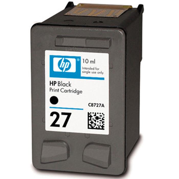 HP C8727AE (27), Black струйный картридж hp cn053ae 932xl black струйный картридж