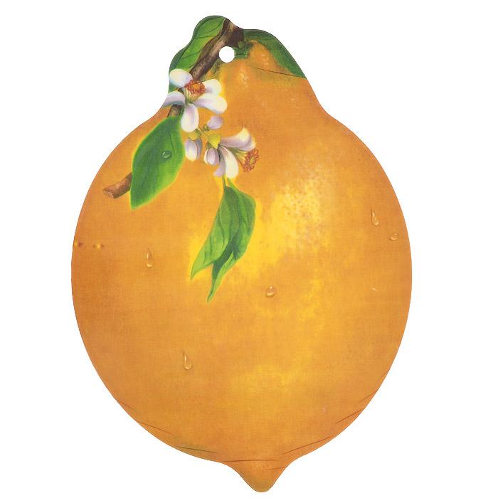 Доска разделочная Лимон, цвет: желтый, 29,5 х 20,5 см813-053Разделочная доска Лимон, выполненная из крепкого пластика, станет незаменимым атрибутом приготовления пищи. Доска устойчива к повреждениям и не впитывает запахи, идеально подходит для разделки мяса, рыбы, приготовления теста и для нарезки любых продуктов.