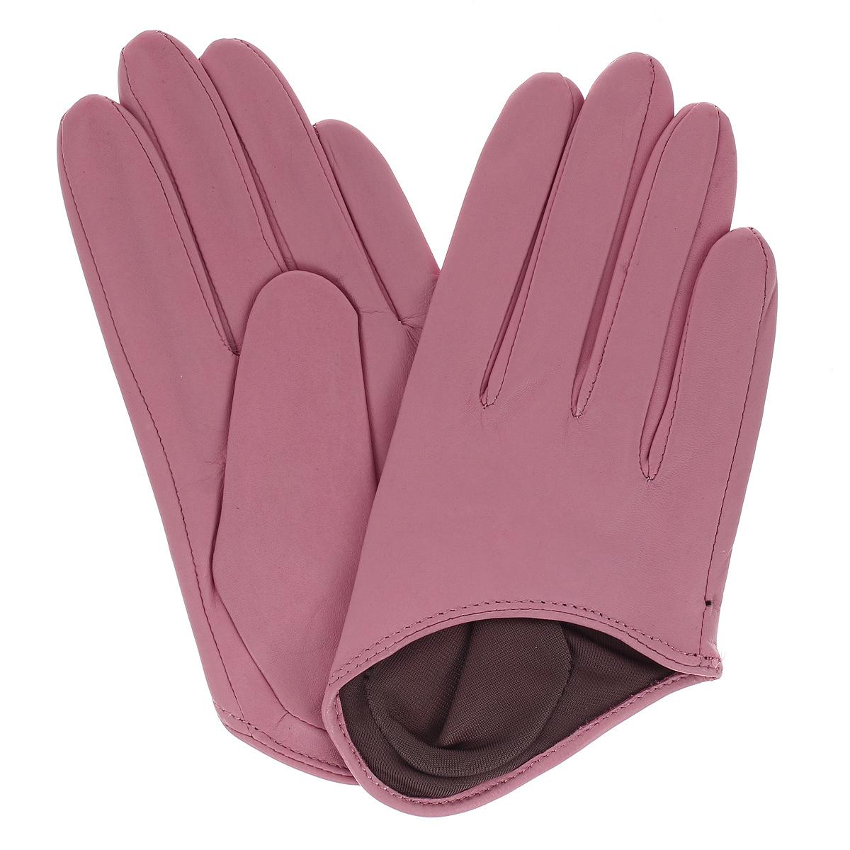 Перчатки женские Michel Katana, цвет: светло-розовый. K81-IN1. Размер 7K81-IN1/ROSEСтильные укороченные перчатки Michel Katana с шелковой подкладкой выполнены из мягкой и приятной на ощупь натуральной кожи ягненка на хлопковой подкладке.Перчатки станут достойным элементом вашего стиля и сохранят тепло ваших рук.Это не просто модный аксессуар, но и уникальный авторский стиль, наполненный духом севера Франции.