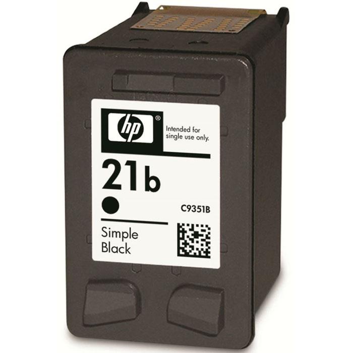 HP C9351BE (21b), Black струйный картридж картридж hp 652 black f6v25ae купить