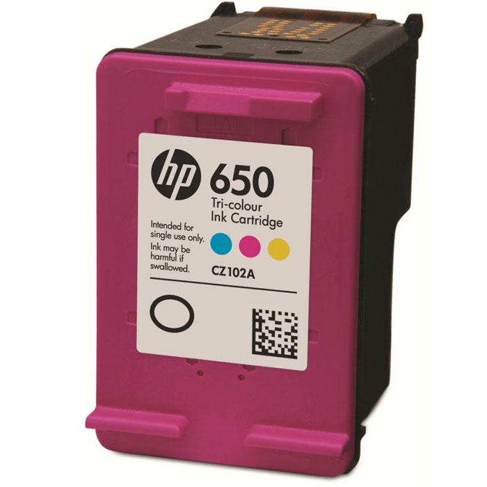 HP CZ102AE цветной струйный картриджCZ102AEПроизводите высококачественные повседневные документы и фотографии с яркими цветными изображениями и четкой графикой, сокращая расходы на печать, с помощью трехцветного картриджа HP CZ102AE. Воспользуйтесь преимуществами премиум-качества HP при новой, меньшей стоимости. Качество HP, о котором вы знаете и которому доверяете, теперь доступнее — печатайте в 2 раза больше страниц по той же цене. Печатайте яркие цветные документы, отчеты, изображения и графические материалы, которые сохраняют качество в течение десятилетий.Используйте новые оригинальные картриджи HP для получения выдающихся результатов, не беспокоясь при этом о пятнах или утечке чернил. Конструкция оригинальных картриджей HP исключает наличие дефектов и предотвращает повреждение печатающей головки.Цвет(а) картриджей: трёхцветный;Капля чернил: 2,3 – 8,5 пл (в зависимости от режима и скорости печати)Совместимые типы чернил: на основе красителя