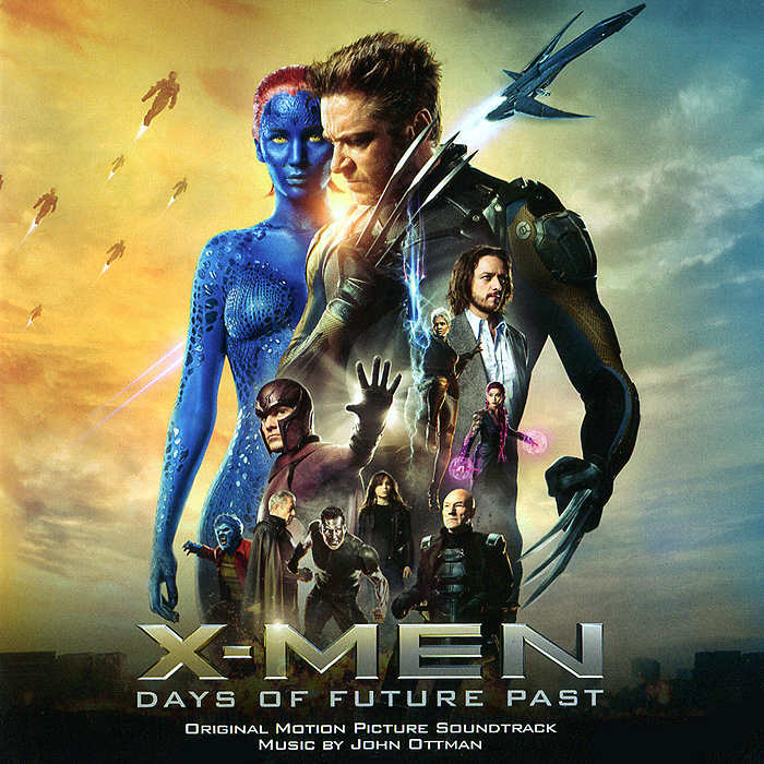 X-Men: Daes Of Future Past. Original Motion Picture Soundtrack майка борцовка print bar past future now