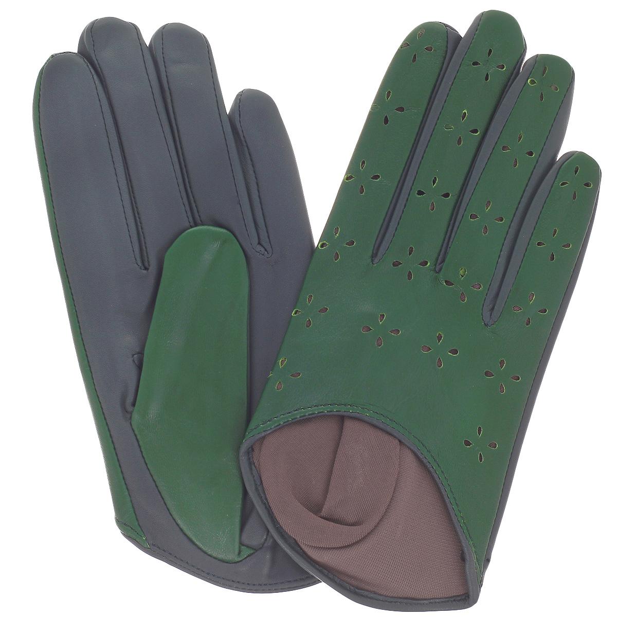 перчатки женские michel katana цвет фуксия k81 if1 размер 6 5 Перчатки женские Michel Katana, цвет: изумруд. K81- H1. Размер 6,5