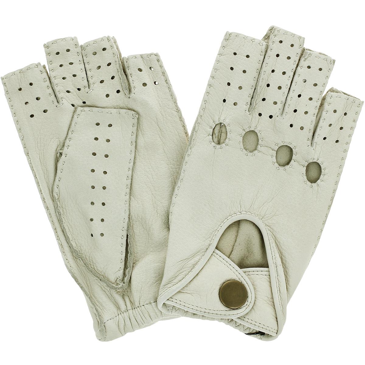 Перчатки унисекс Dali Exclusive, цвет: слоновая кость. DMG0.5/IVORY. Размер 9,5 перчатки унисекс dali exclusive цвет черный is1 bl размер 8