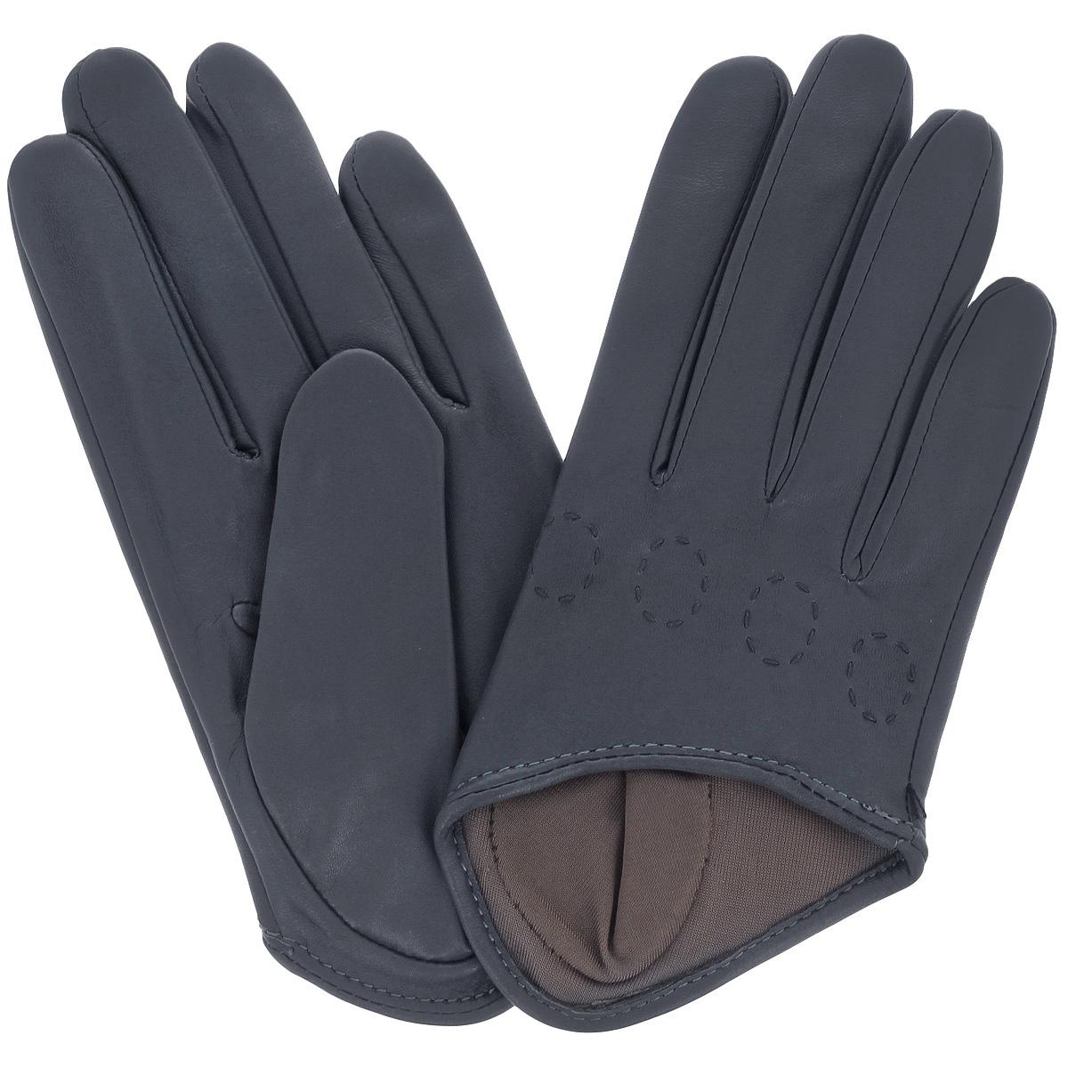 Перчатки женские Michel Katana, цвет: чернильный. K81-IF1. Размер 7,5K81-IF1/ENCRСтильные перчатки Michel Katana с шелковой подкладкой выполнены из мягкой и приятной на ощупь натуральной кожи ягненка. Перчатки станут достойным элементом вашего стиля и сохранят тепло ваших рук. Это не просто модный аксессуар, но и уникальный авторский стиль, наполненный духом севера Франции.