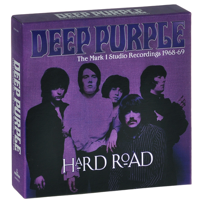 Deep Purple Deep Purple. Hard Road: The Mark 1 Studio Recordings 1968-69 (5 CD) мягкие игрушки trudi пантера ирис 34 см