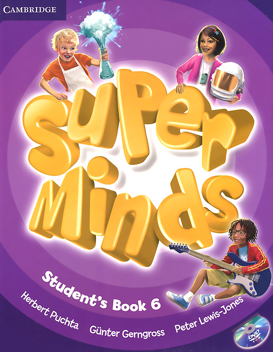 Super Minds: Level 6: Student's Book (+ DVD-ROM) super minds level 6 workbook with online resources